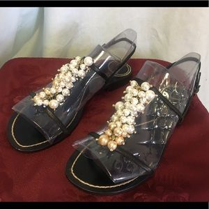 Kate Spade Pearl Strap Sandals